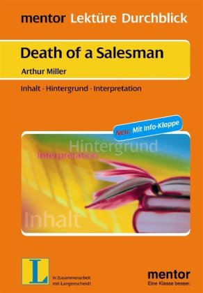 Book cover for Death of a Salesman