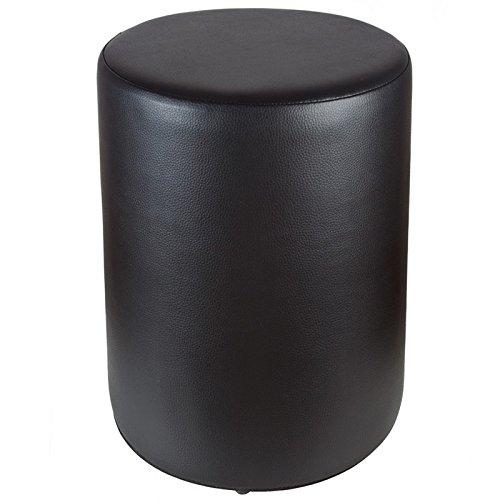 Sitzhocker schwarz Ø34 x 44cm