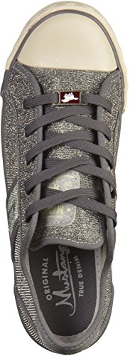 Mustang Damen 1099-308-480 Sneaker Silber(Grau)