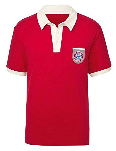 FC Bayern Retro Poloshirt '71 Größen S