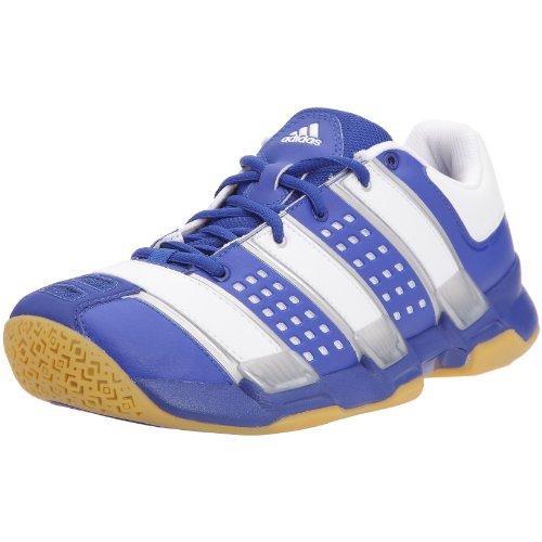adidas Herren Handballschuhe, Bleu/Blanc/Argent, 42 EU