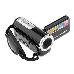 "Segolike Camera Recorder Mini Digital Video Camcorder HD DV 1.8"" Screen 8X Zoom Black"