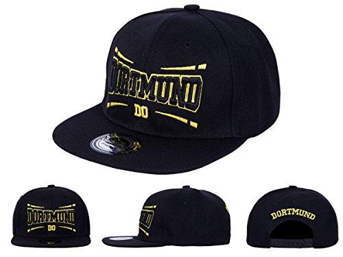 Snapback Fussball Bundesliga Fan Sports Caps Basecap Dortmund schwarz/gelb