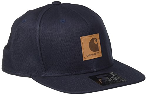 carhartt-logo-starter-cap-chapeau-fedora-mixte-bleu-navy-taille-unique-taille-fabricant-taglia-unica