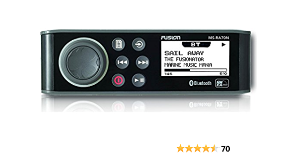 Fusion Ra70 Funkgerät Mit Bluetooth Schwarz Elektronik