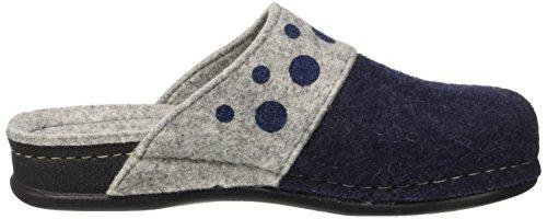GRÜNLAND Ci2255, Pantofole Aperte sulla Caviglia Donna Blu