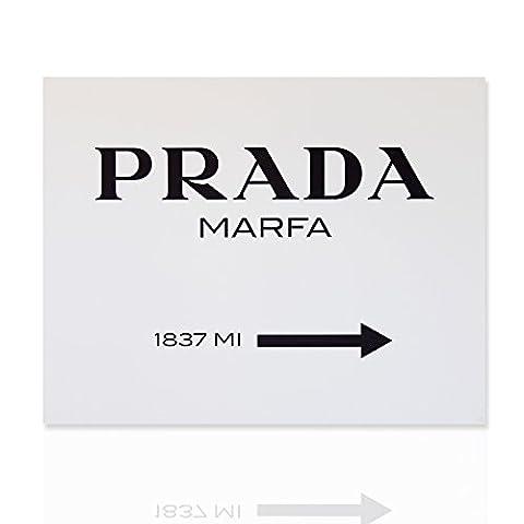 Cadre d'entreprise Meubles modernes Prada Marfa Classique- Peinture Art moderne