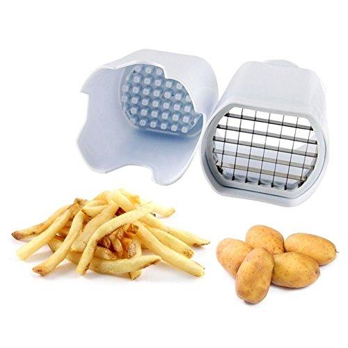 Sweety–Cámara Marca nueva fácil cortador de patatas cortador picador de patata para perfecto patatas fritas Fry