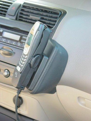 KUDA 046922 Halterung Echtleder grau (33152) für Honda Civic EX/DX/LX 2 u. 4 er ab 2002 bis 12/2005 (USA)