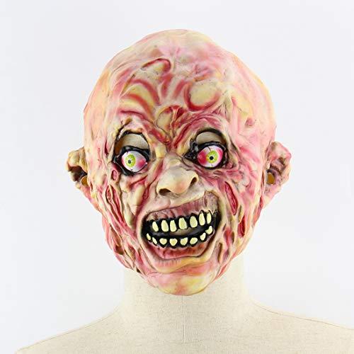 Halloween Latex Maske Gruselig Zombie 3D Neuheit Beängstigend Kostüm Partei Cosplay Requisiten Rollenspiel Spielzeug