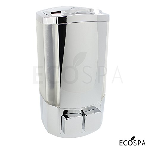 double-wall-mounted-chrome-bathroom-pump-soap-dispenser-for-soap-shower-gels-or-shampoo-by-ecospa
