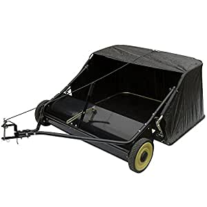 tow behind lawn sweeper working width 107 cm bag 368. Black Bedroom Furniture Sets. Home Design Ideas