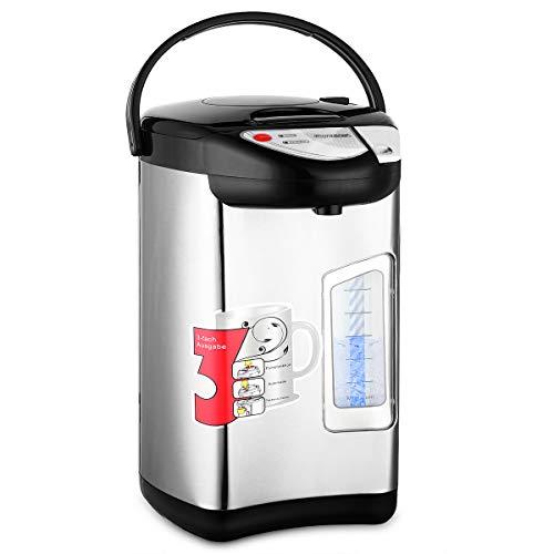 Distributeur de boissons chaudes acier inoxydable 3L 750W bouilloire vin eau chaude minuteur 24H thermos bouilloire cuve thermos auto nettoyage pique-nique camping