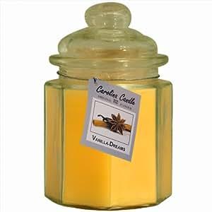 2 bougies parfumées odorantes Caroline Candle Vanille