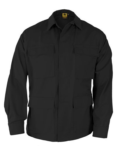 military-coat-black-size-l-reg-by-propper