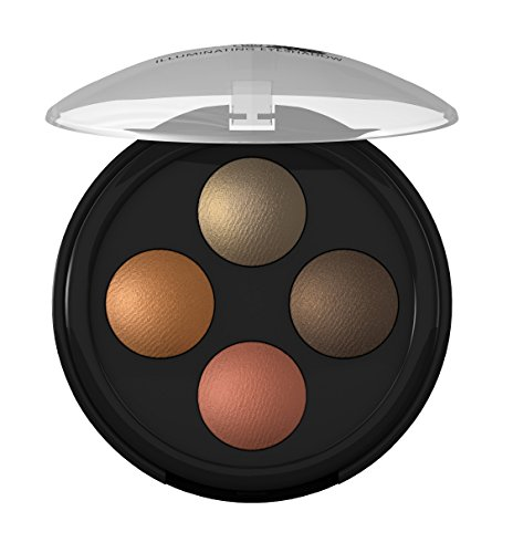 lavera Lidschatten Illuminating Eyeshadow Quattro ∙ Farbe Indian Dream ∙ farbbrilliant &...
