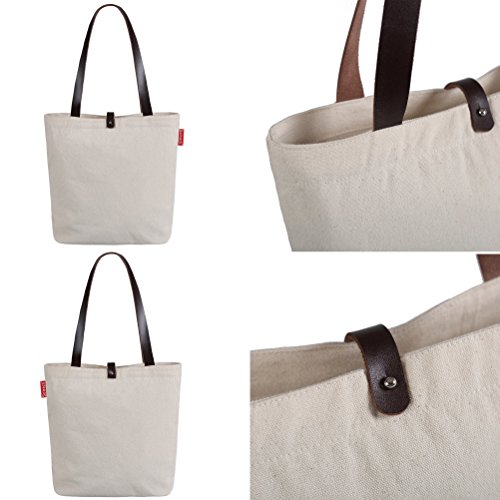 So'each Borsa da spiaggia, Natural Color (beige) - HBD-UK-97-BG Natural Color