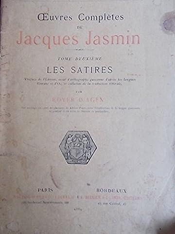 Oeuvres complètes de Jacques Jasmin. Las papillotos.Tome deuxième : Les