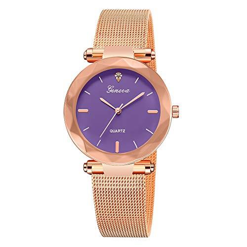 Uhren Damen Armbanduhr Mode Frauen Klassische Luxus Frauen Edelstahl Analog Quarz Analog Armbanduhr Mode Uhrenarmband,ABsoar