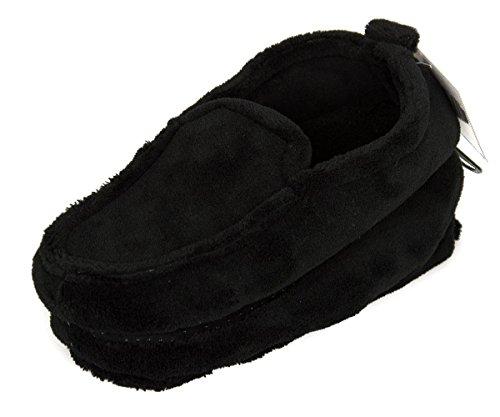 Pantofola babbuccia mocassino casa uomo antiscivolo CIOCCA articolo 470/U 003 Nero