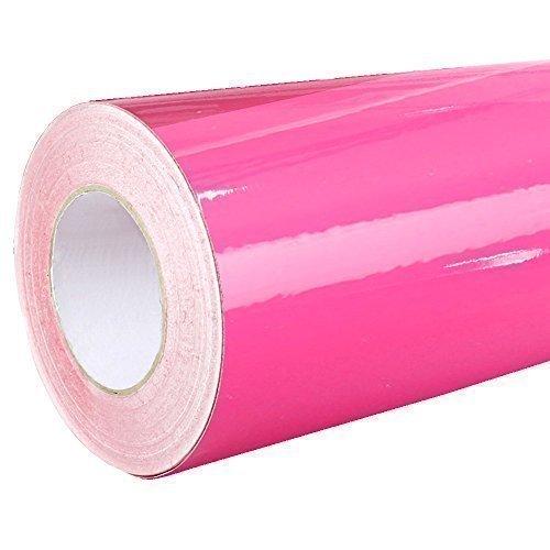 Rapid Teck - 041 Pink - Klebefolie - 5m x 31cm - Folie - Plotterfolie - selbstklebend - auch als Moebelfolie - Klebefolie - Dekofolie -