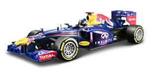 Maisto 1:18 2013 F-1 Red Bull Racing Remote Controlled Car, Navy Blue