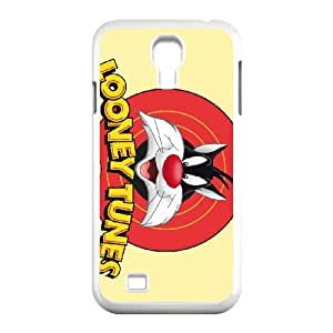 sylvester cat looney tunes wide Samsung Galaxy S4 9500 Cell Phone Case White xlb2-053411