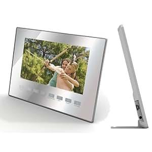 "7"" Slimline Silver Digital Photo Frame [Electronics]"