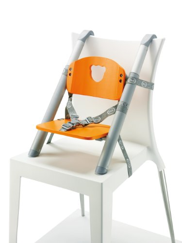 Minui - Elevador regulable en altura para silla Pali Up, color naranja