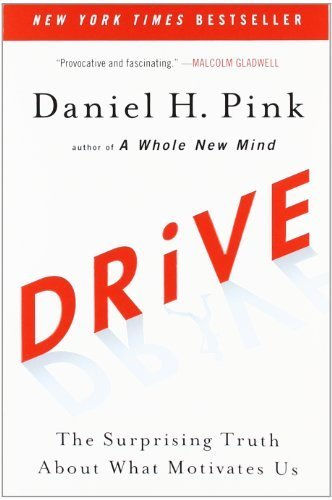 Drive: The Surprising Truth About What Motivates Us by Pink, Daniel H. (2011) Paperback