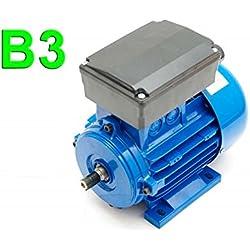 MOTOR ELÉCTRICO MONOFÁSICO 220V B3 0,37 KW / 0,5 CV