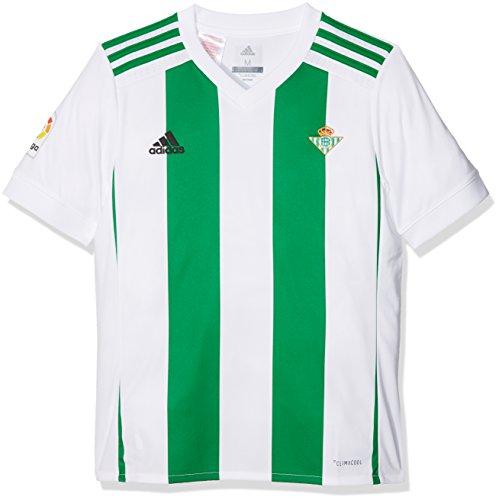 23c8ad88b adidas Betis H Jsy y Camiseta de Equipación, Niños, Blanco, 152-11