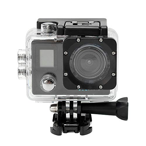kashyk Digitalkamera,(1600 Megapixel,2.0 Zoll HD LCD Display,Unterwasser 30M,170 ° A + HD Weitwinkelobjektiv ) wasserdichte 4K Dual Screen WiFi HD 1080P Sport Action Kamera DVR Cam Camcorder -