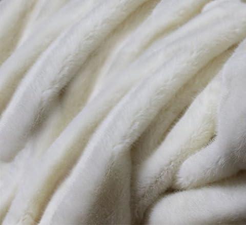 Fur imitate blanket cover kaross rug furlin furry fleece faux coat bedspread fell 150x200cm design :