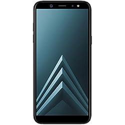 """Samsung Galaxy A6 - Smartphone libre Android 8,0 (5,6 HD+), Dual SIM, Cámara Trasera 16MP + Flash y Frontal 16MP + Flash, Negro, 32 GB 5.6"""" - Versión española"""