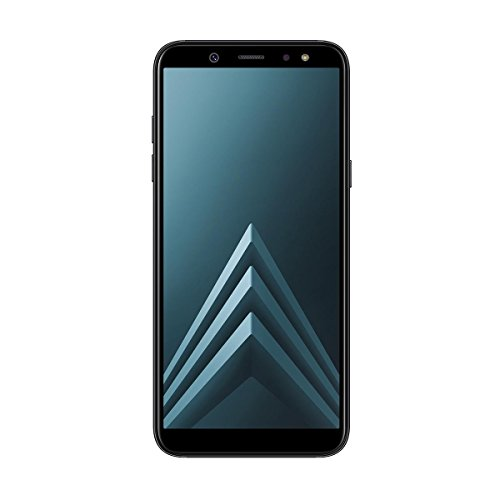 Samsung Galaxy A6 - Smartphone libre Android 8,0 (5,6 HD+), Dual SIM, Cámara Trasera 16MP + Flash y Frontal 16MP + Flash, Negro, 32 GB 5.6