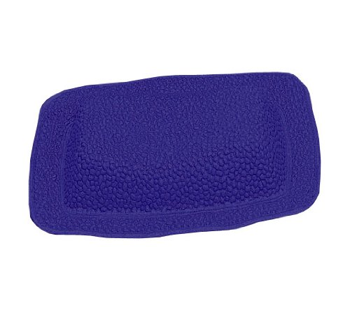 Kleine Wolke 241713008 Java-Plus Repose-Tête de Bain PVC Bleu 32 x 22 cm