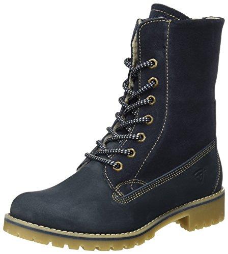 Tamaris Damen 26443 Combat Boots, Blau (Navy), 39 EU (Boots Blau)