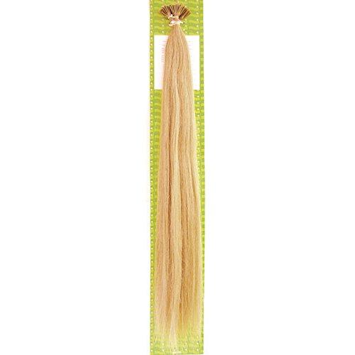 'Dream Hair Stick Extensions 100 Pieces Str 22 : 24 22/56 cm Human Hair Extensions de cheveux Blond Doré Clair (Extension de cheveux 56 cm 100s)
