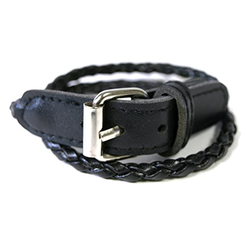 Wrapables Leather Double Wrap Belt Bracelet, (Double Wrap Belt)