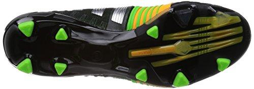 adidas Nitrocharge 1.0 Fg, Chaussures de Football Homme CNoir/Silvmt/Sogold