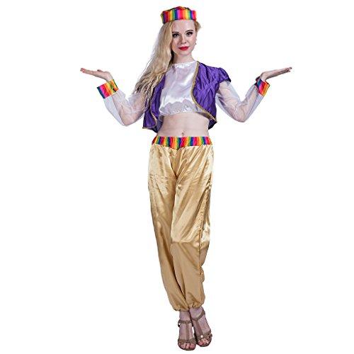 EraSpooky Genie Principessa Costume Arabo delle Donne