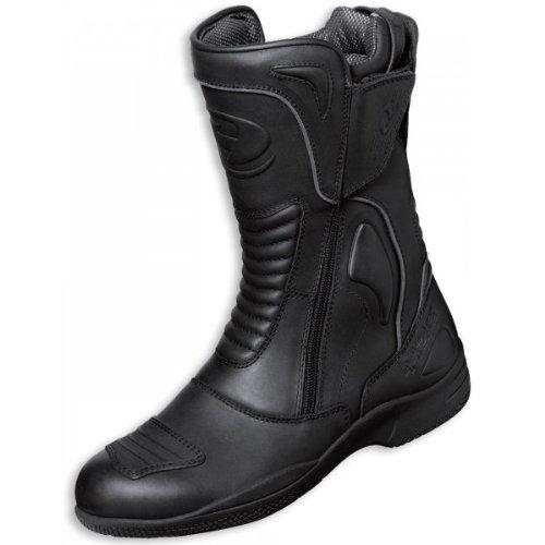 Held Shaku - Stivali per moto da corsa, nero (nero), 42