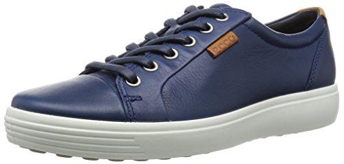 Ecco Soft 7, Baskets Basses Homme Bleu (1048True Navy)