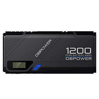 DBPOWER 1200A Arrancador portátil de Emergencia para Coche