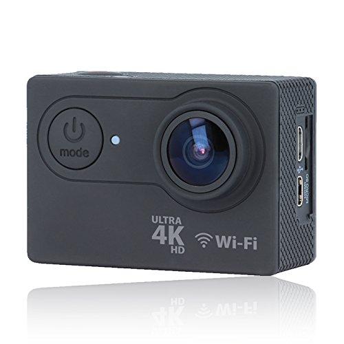 ACTION CAMERA 4K ULTRA HD FOREVER SC-400 VIDEOCAMERA FOTOCAMERA DIGITALE ON BOARD SUBACQUEA FINO A 30 MT