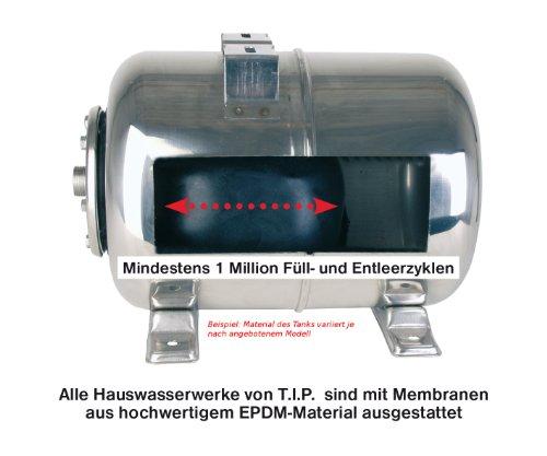 T.I.P. 31143  Hauswasserwerk HWW 3000 Inox Edelstahl -