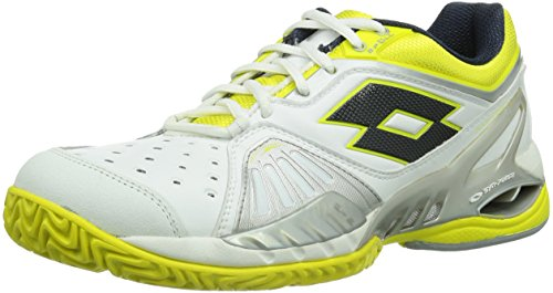 Lotto Sport RAPTOR ULTRA IV CLAY W, Scarpe da tennis donna, Mehrfarbig (WHITE/CHICK), 38 EU (5 Damen UK)