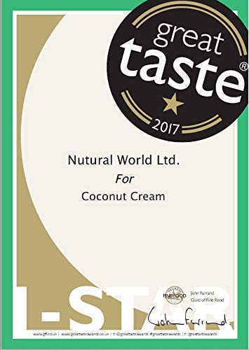 Nutural World - Coconut Cream (170g) Great Taste Award Winner 3