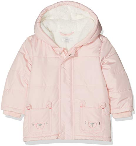 NAME IT Baby-Mädchen Jacke NBFMAKI Jacket Rosa Strawberry Cream, 68